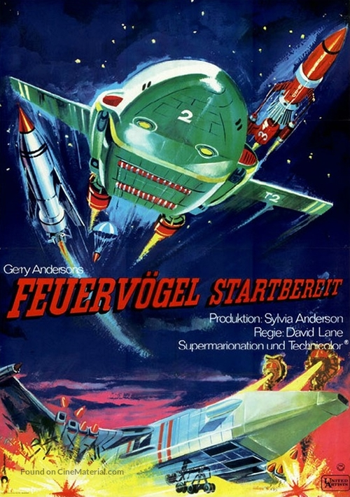 Thunderbirds Are GO - German Movie Poster
