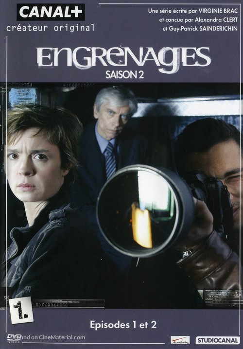 """""""Engrenages"""" - French DVD cover"""