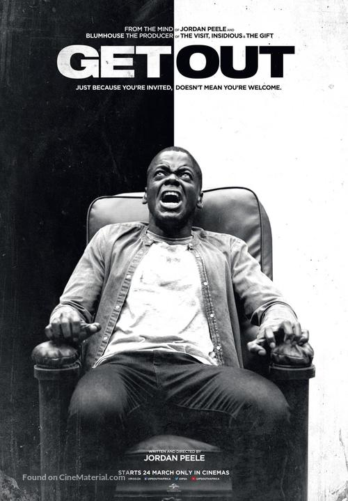 Get Out - South African Movie Poster
