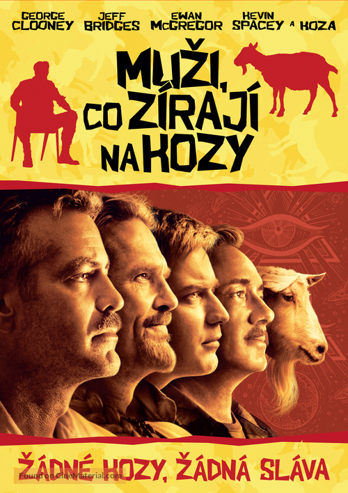 The Men Who Stare at Goats - Slovak DVD cover