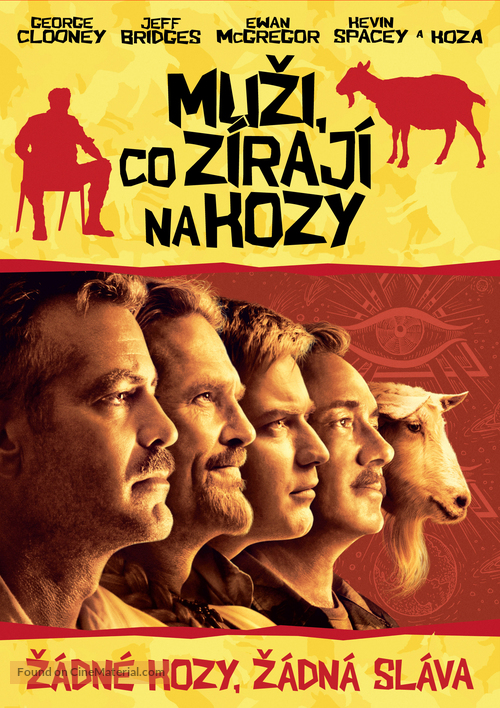The Men Who Stare at Goats - Slovak DVD movie cover