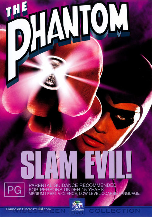 The Phantom - Australian DVD movie cover