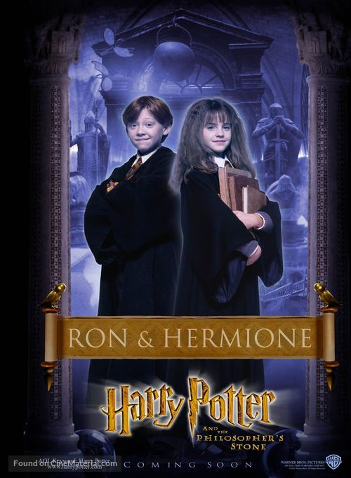 Harry Potter and the Sorcerer's Stone - British Character poster
