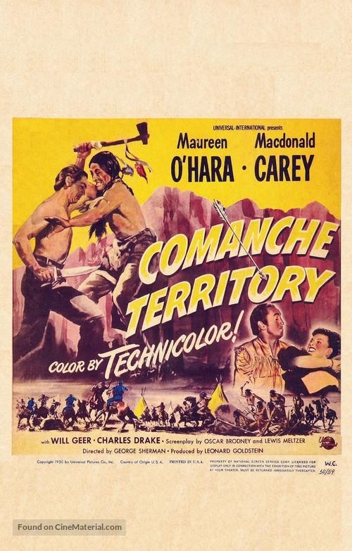 Comanche Territory - Movie Poster