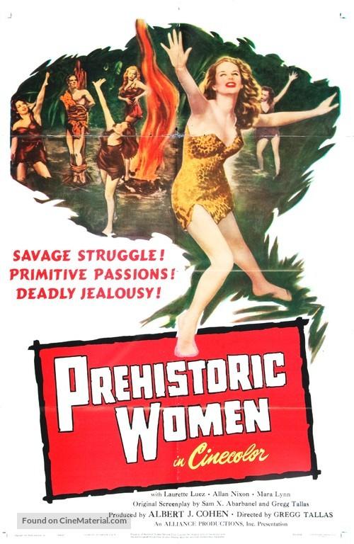 Prehistoric Women - Movie Poster