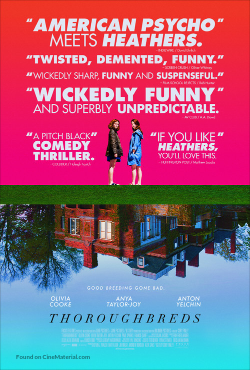 Thoroughbreds - Movie Poster