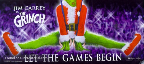 How the Grinch Stole Christmas - Movie Poster
