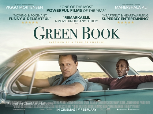 Image result for Green Book film poster