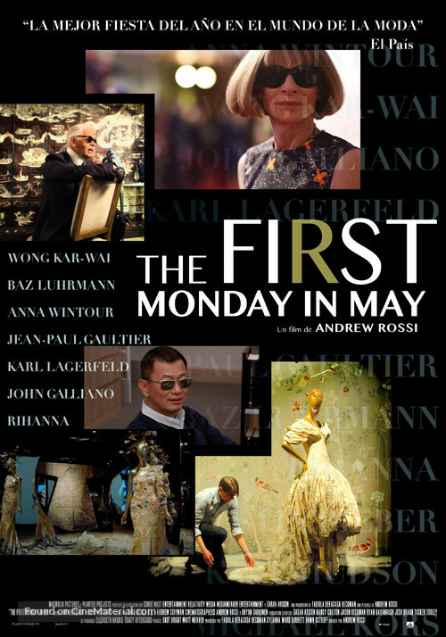 The First Monday in May - Spanish Movie Poster