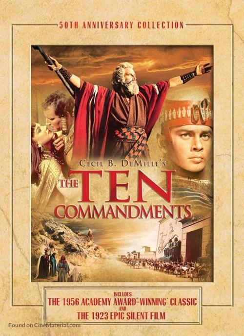 The Ten Commandments - DVD movie cover