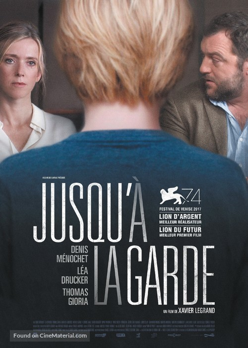 Jusqu'à la garde - French Movie Poster