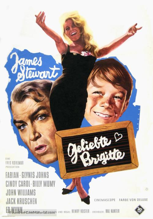Dear Brigitte - German Movie Poster