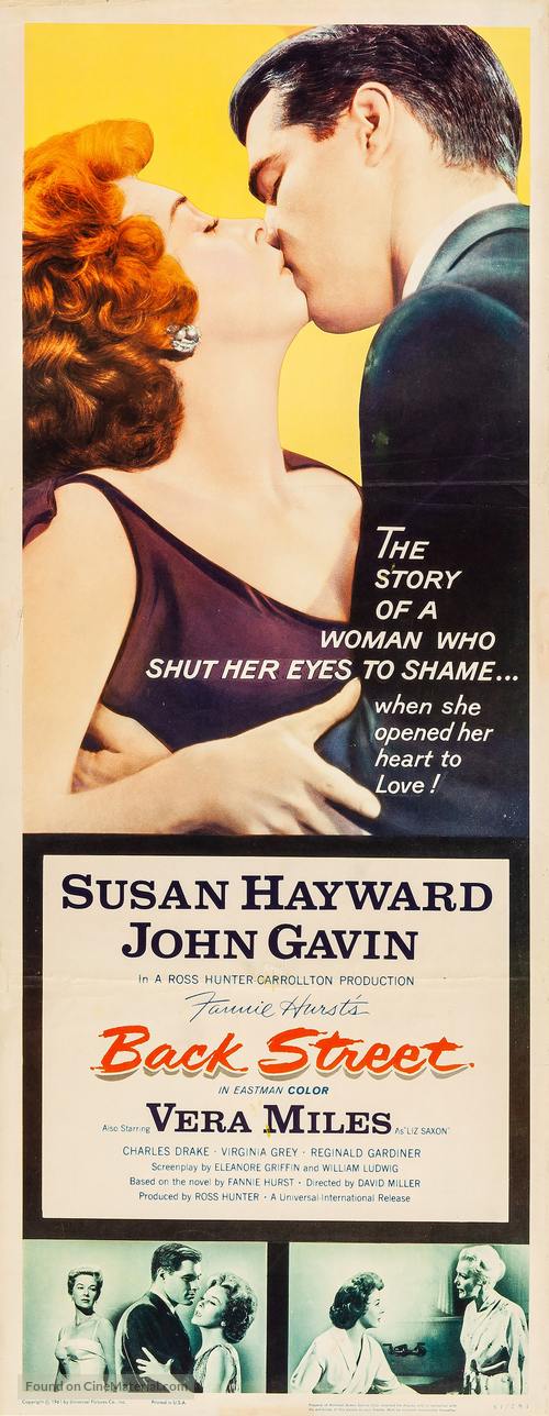 Back Street - Movie Poster