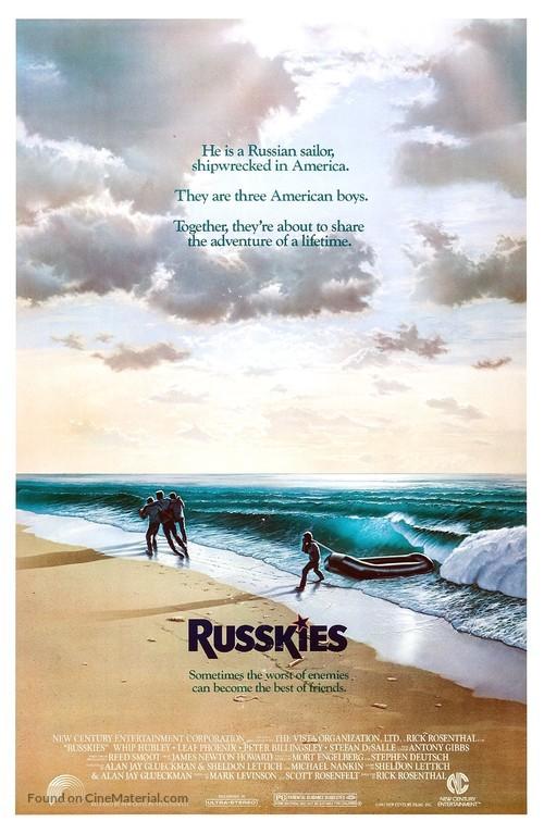 Russkies - Movie Poster