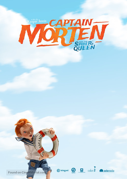 Captain Morten and the Spider Queen - Movie Cover