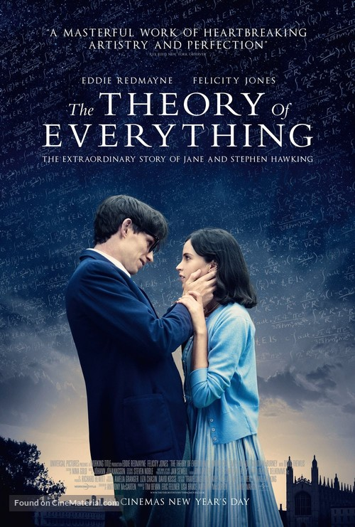 The Theory of Everything - British Movie Poster