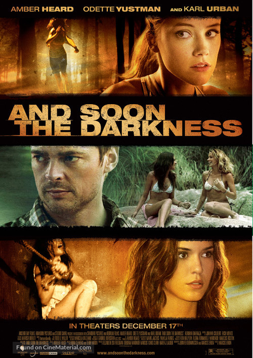 And Soon the Darkness - Movie Poster
