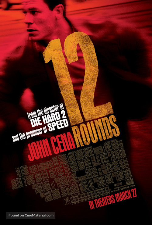 12 Rounds - Movie Poster