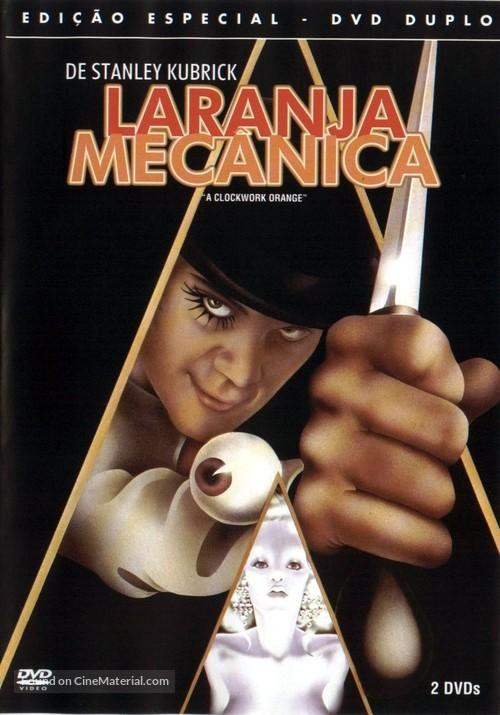 A Clockwork Orange - Brazilian DVD cover