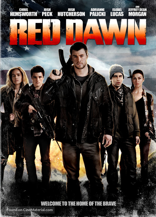 Red Dawn - DVD movie cover