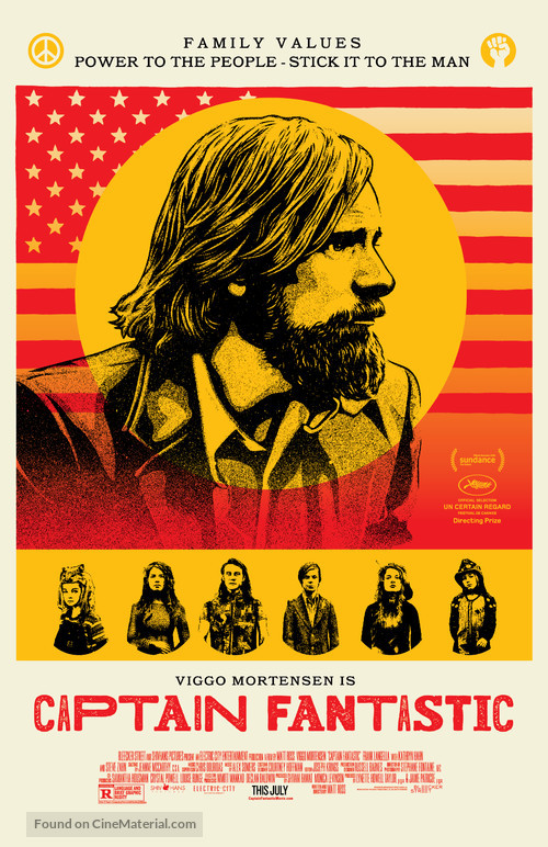 Captain Fantastic - Movie Poster