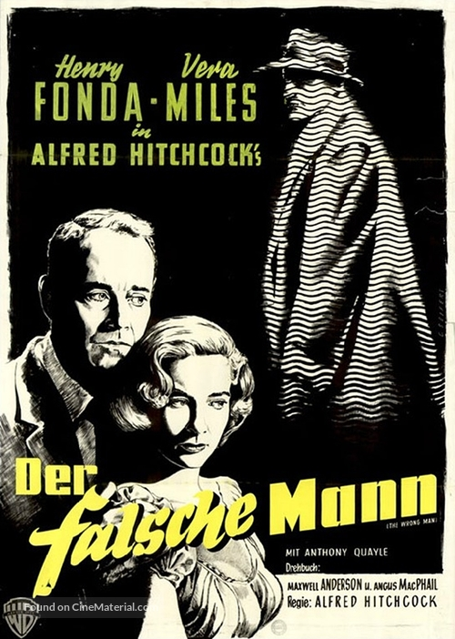 The Wrong Man - German Movie Poster
