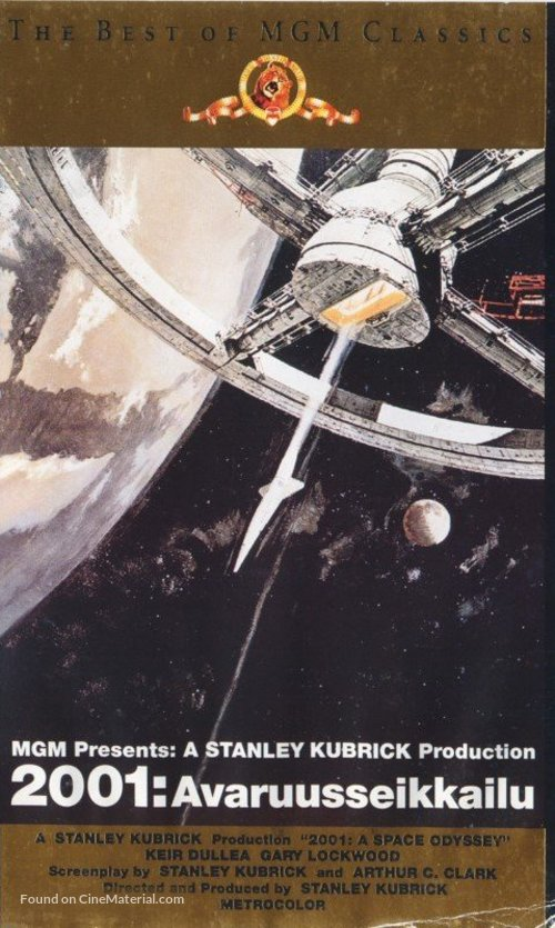 2001: A Space Odyssey - Finnish Movie Cover