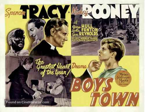 Boys Town - Movie Poster