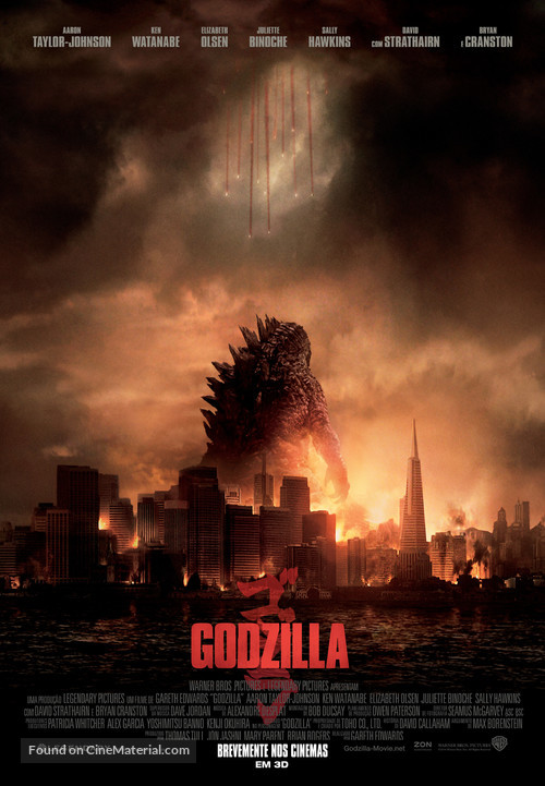 Godzilla - Portuguese Movie Poster