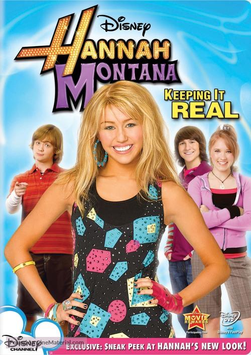 """""""Hannah Montana"""" - DVD cover"""
