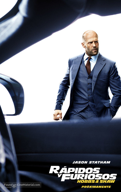 Fast & Furious Presents: Hobbs & Shaw - Mexican Movie Poster