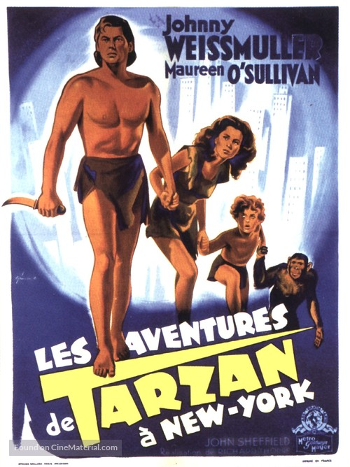 WEISSMULLER FRENCH TARZAN JOHNNY TÉLÉCHARGER