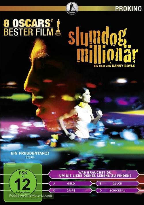 Slumdog Millionaire - German DVD cover