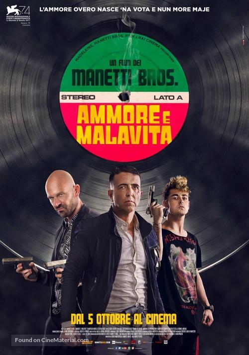 Ammore e malavita - Italian Movie Poster
