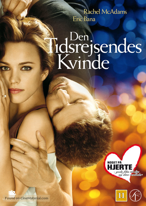 The Time Traveler's Wife - Danish Movie Cover