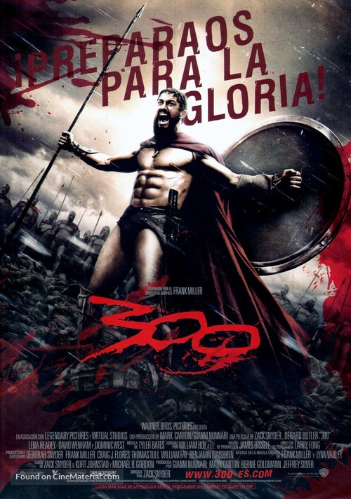 300 - Spanish Movie Poster