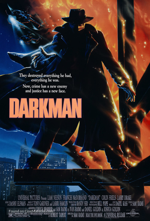 Darkman - Movie Poster