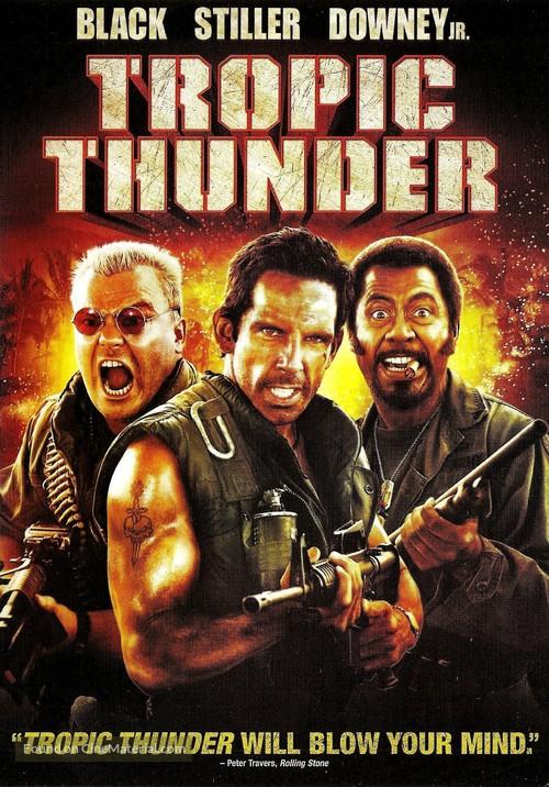 Tropic Thunder - DVD cover