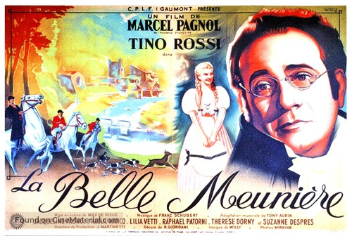 La belle meunière - French Movie Poster