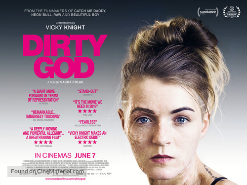 Dirty God - British Movie Poster