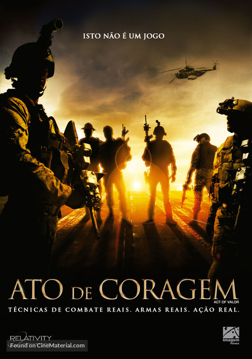 Act of Valor - Brazilian DVD cover