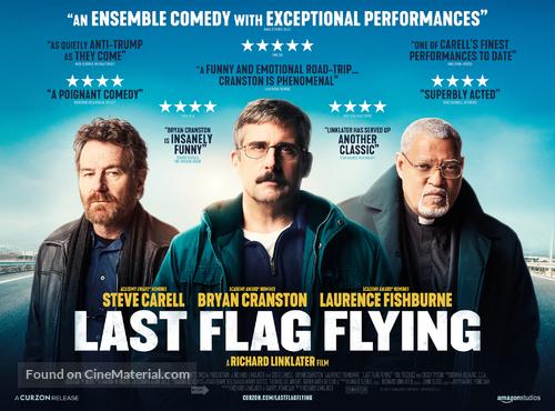 Last Flag Flying - British Movie Poster