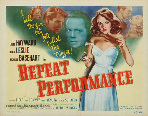 Image result for repeat performance poster