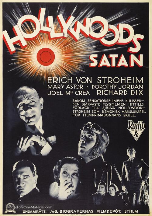 The Lost Squadron - Swedish Movie Poster