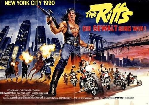 1990: I guerrieri del Bronx - German Movie Poster