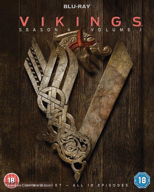 """""""Vikings"""" - British Blu-Ray movie cover"""
