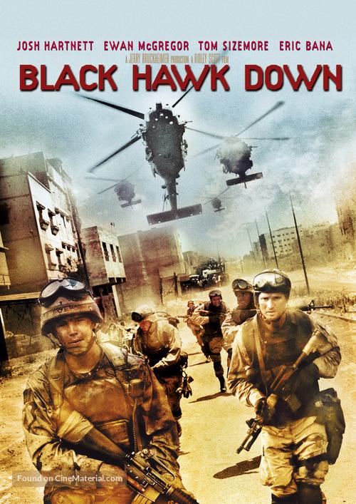 Black Hawk Down - DVD cover