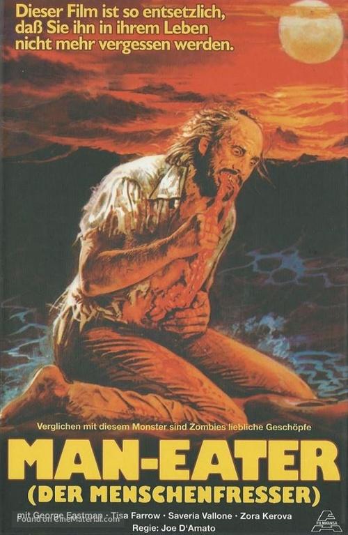 Antropophagus - Austrian Blu-Ray movie cover