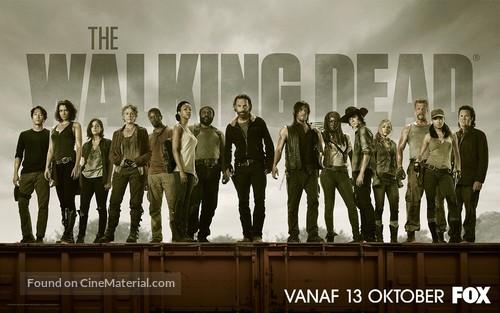 """The Walking Dead"" - Romanian Movie Poster"