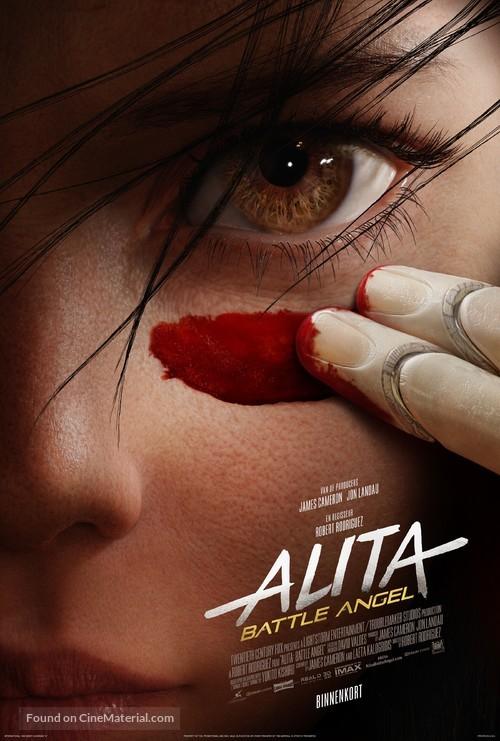Alita: Battle Angel - Belgian Movie Poster